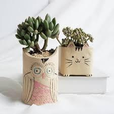 garden hanging porcelain flower pot cute design garden products