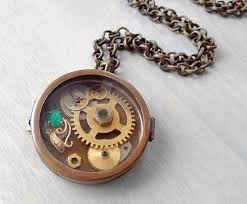 box lockets steunk locket shadowbox pendant necklace by oneurbantribe on