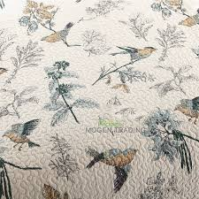 Quilted Bedspread King Aliexpress Com Buy Chausub Washed Cotton Quilt Set 3pcs Birds