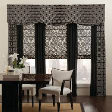 Drapery Companies Cleveland Eclectic Novelty Home Office With Drapery Panels