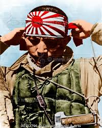 kamikaze headband lebrecht and arts photo library japanese kamikaze