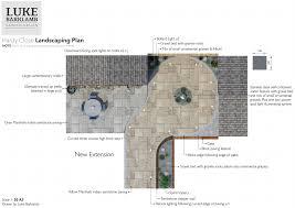 luke barklamb hardy close landscaping plan scale 1 50 a3
