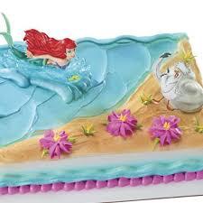 the mermaid cake mermaid ariel and scuttle cake kit 3 pcs
