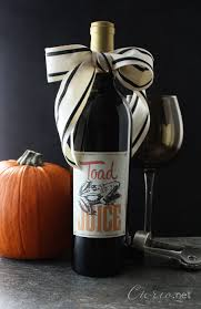 halloween bottle lables halloween wine bottle labels cu rio