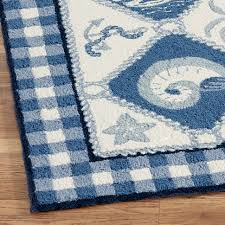 Area Rugs Tropical Theme Coffee Tables Polypropylene Nautical Outdoor Rugs Coastal Runner