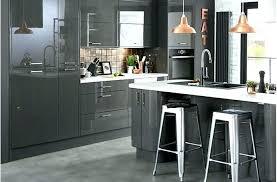 meuble cuisine et gris peinture pour cuisine grise meuble de cuisine gris anthracite