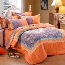 Paisley Comforters Orange Paisley Bedding Foter