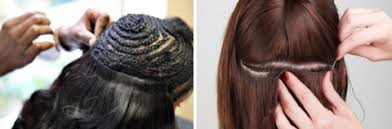 weave extensions what are the different types of hair extensions luxy hair