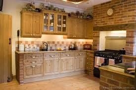brick kitchen ideas kitchen design for images spaces golden and middle