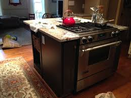 kitchen islands with stoves kitchen island new granite countertops built in stove inside