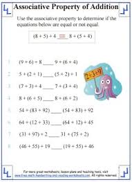 associative property of addition definition u0026 worksheets