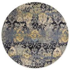 Damask Round Rug Buy Damask Rugs From Bed Bath U0026 Beyond