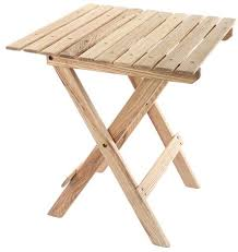Diy Collapsible Picnic Table by Make A Small And Portable Folding Table U2013 Diy Real