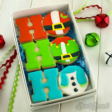 christmas cookie box sets semi sweet designs