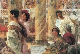 banchetti antica roma cenabis bene mi fabulle a tavola con gli antichi romani