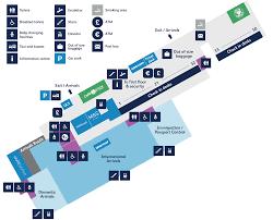 London Airports Map Bristol Airport Map Ground Floor Map Bristol Airport