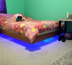 platform bed with led lights bed with led lights floating platform bed with led lights bed led
