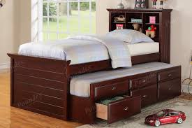 Captain Bed With Trundle Twin Bed W Trundle Day Bed Bedroom Furniture Showroom