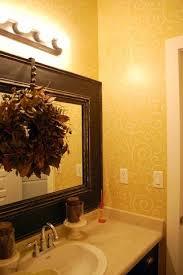 Bathroom Mirror Trim by Best 25 Wreath Over Mirror Ideas On Pinterest Mirror Over Couch
