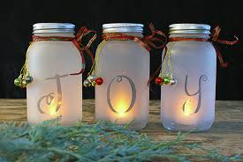 Mason Jar Candle Ideas 75 Mason Jar Diy Christmas Decorations Prudent Penny Pincher