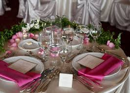 table decor ideas for functions catering in chester county