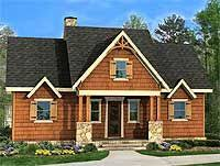 open floor plan with wrap around porch mountain house plans