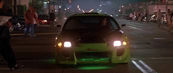 mitsubishi eclipse fast and furious image brian s eclipse front view jpg the fast and the furious