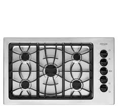 Frigidaire Downdraft Cooktop Frigidaire Gallery 36 U0027 U0027 Gas Cooktop Stainless Steel Fggc3645ks
