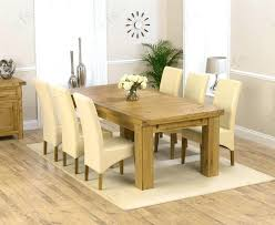Solid Oak Dining Table And 6 Chairs Oak Dining Table Extending Opus Oak Furniture Extending Table