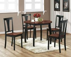 Sofa Black Round Kitchen Tables Table And Chairs Sets With Leaf - Black kitchen table