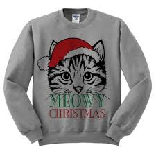 meowy christmas sweater meowy christmas sweater ugliest christmas sweaters holidays and
