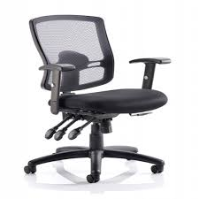 Black Mesh Office Chair Dynamic Portland 3 Black Mesh Back Office Chair 121 Office Furniture