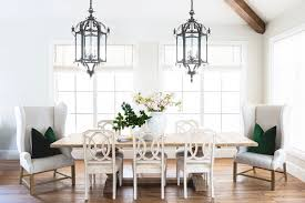 Restoration Hardware Dining Room Table by My Kitchen Reveal Pink Peonies By Rach Parcell