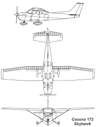 Blueprints Free by Cessna 172 Skyhawk Blueprint Download Free Blueprint For 3d Modeling