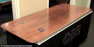 beer die table for sale mit fraternity gets a high tech beer pong table that has built in