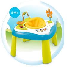table d activité avec siege rotatif youpi baby bleu cotoons la grande récré vente de jouets et