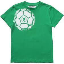 bikkembergs boys green football print t shirt children boutique