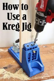 how to use a kreg jig pretty handy