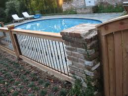 wrought iron fence with wood posts outdoor living pinterest