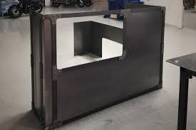 Metal Reception Desk Custom Desks Commercial U0026 Residential Desks The Yamwood Foundry