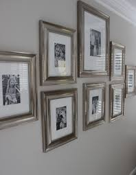 Gallery Wall Frames by Design Indulgence Before And After Wall Displays Pinterest