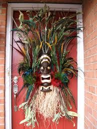 Pinterest Halloween Wreaths by Tiki Voodoo Island Custom Wreath By Irishgirl U0027swreaths 185