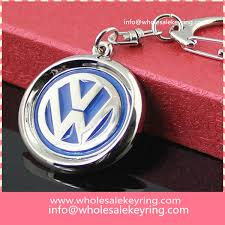 red key rings images Wholesale rotatable volkswagen car logo keyring key ring cheap jpg
