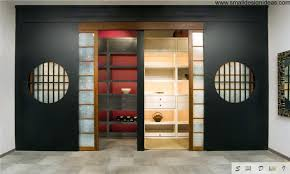 japanese interior design style fitted in wardrobe in the japanese interior style