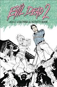 apr171958 evil dead 2 coloring activity book tp previews