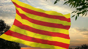 Flag Of Catalonia Flag And Anthem Of Catalonia Youtube
