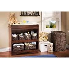 South Shore Peek A Boo Changing Table Changing Tables Brown Kmart