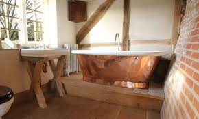 copper bathtub 51 bathroom ideas with copper bath caddy icsdri
