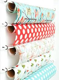 wrapping paper holder commercial wrapping paper dispenser great gift wrap storage ideas
