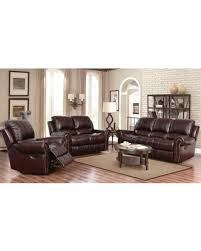 Leather Reclining Sofa Sets Sale Don T Miss This Deal On Abbyson Broadway Top Grain Leather